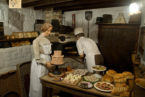 Baker in Victorian Village at Flambards