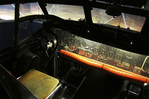 Cockpit of Shackleton Bomber