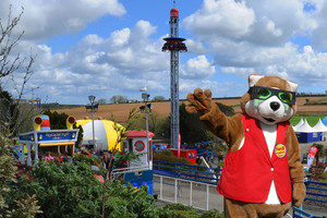 Ferdi at Flambards Theme Park
