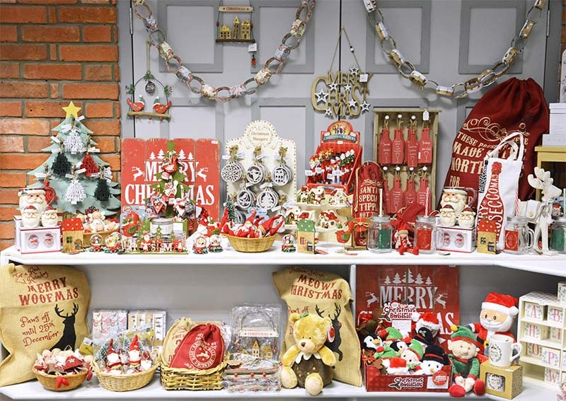 Gifts And Retail Shops At Flambards In Helston, Cornwall