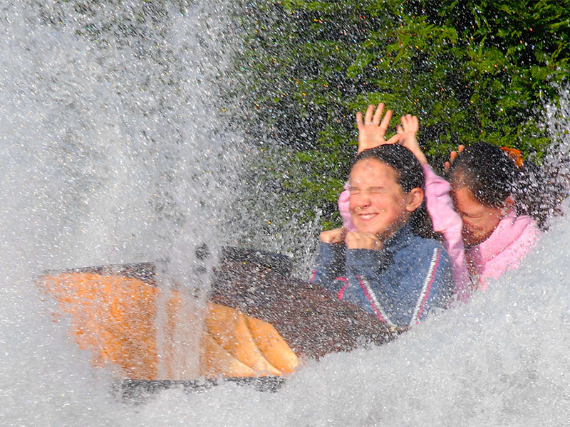 The Log Flume at Flambards