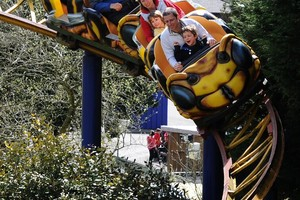 The Hornet Rollercoaster at Flambards